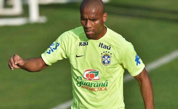 Maicon pääsee ensimmäistä kertaa kentällä Brasilian kotikisoissa.