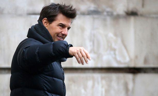 Tom Cruise virnuili Mission Impossiblen kuvauksissa aiemmin tässä kuussa.