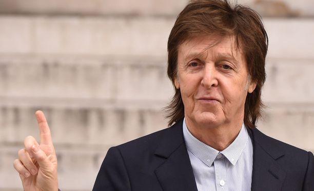 Paul McCartney esitti surunvalittelunsa.