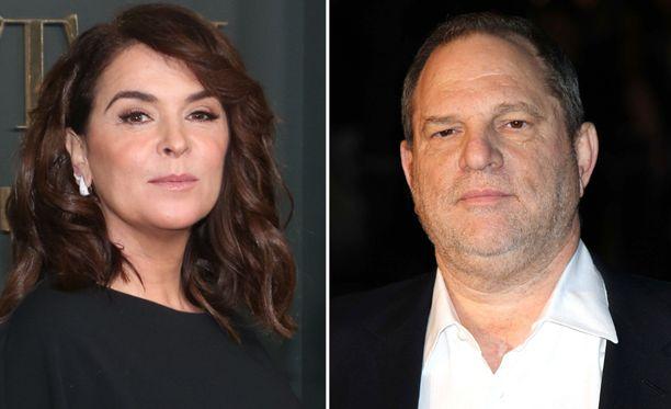 Näyttelijä Annabella Sciorra todisti oikeudessa elokuvatuottaja Harvey Weinsteinia vastaan.