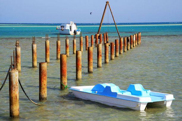 Hurghada on Egyptin suosituin lomakohde.