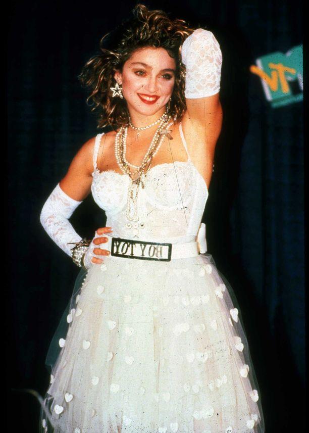 Madonna vuonna 1988.