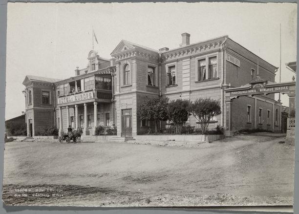 Viipurin Hôtel d'Europe 1900-luvun alussa.