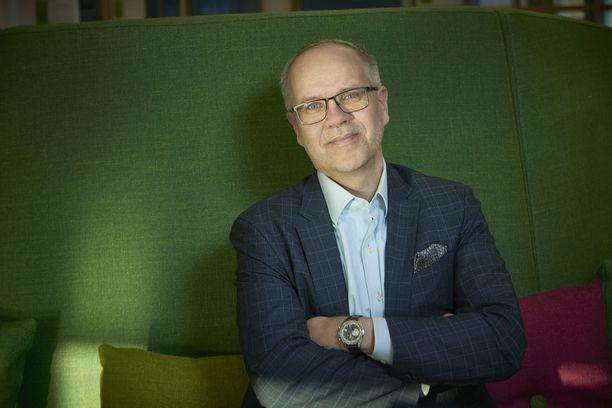 Hannu Krook aloitti vuodenvaihteessa SOK:n pääjohtajana.