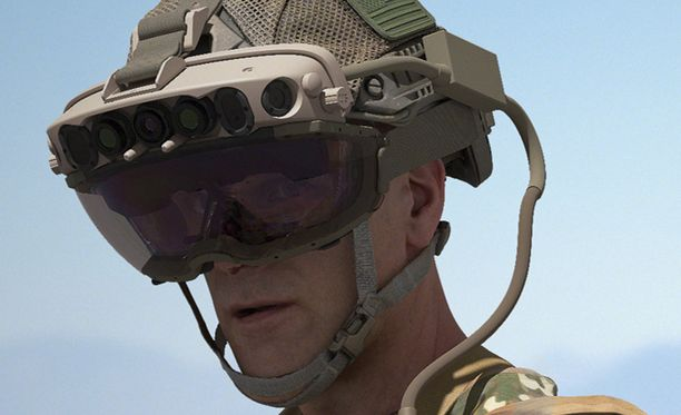 Microsoft on kehittänyt sotilasälylaseja jo pitkään.