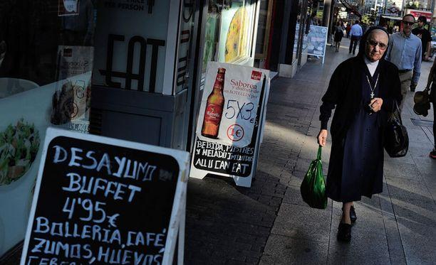 Espanjan pankkikriisi on syventynyt tällä viikolla.