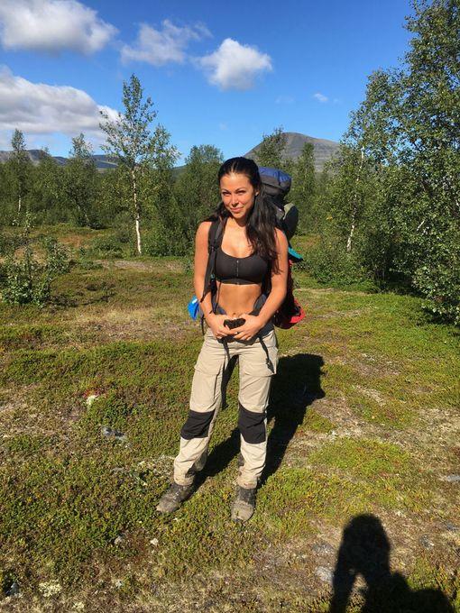 Melissa opiskelee tällä hetkellä terveys- ja fitnessalaa.