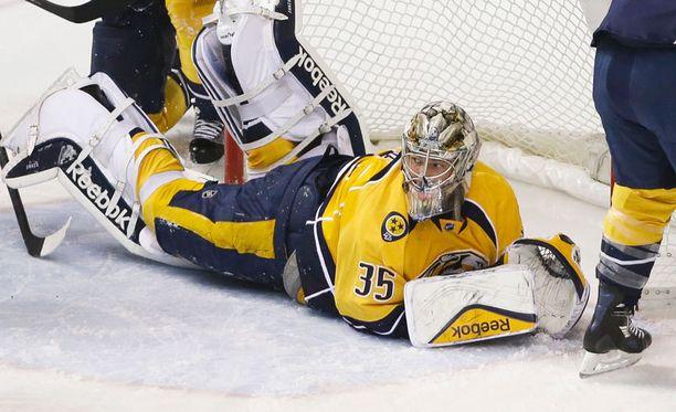 Pekka Rinne on ollut tämän kauden kuumin NHL-vahti.