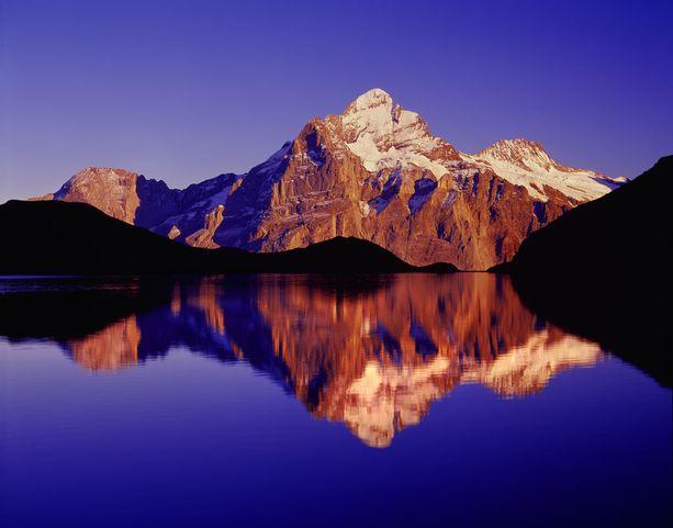 Sveitsin Grindelwald esitti elokuvissa karun kohtalon kokenutta Alderaan-planeettaa.