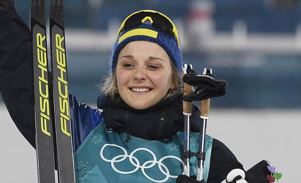 Sprinttikultaa Pyeongchangissa voittanut Stina Nilsson ei pääse osallistumaan maailmancupkisaan Ruotsin Falunissa.
