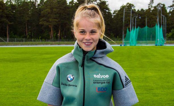 Alisa Vainio täyttää marraskuussa 20 vuotta.