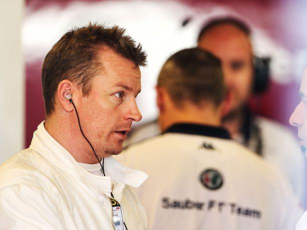 Kimi Räikkönen testasi Sauberin C37-autoa viime kauden päätteeksi Abu Dhabissa.