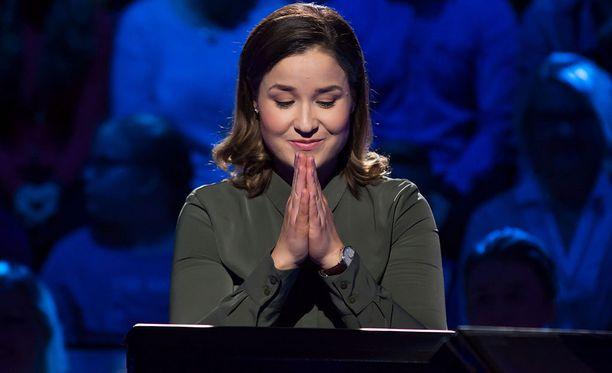 Natasha Saarti kilpailee tänään nähtävässä jaksossa.
