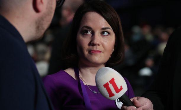 Opetusministeri Sanni Grahn-Laasosella oli ikimuistoinen työhaastattelu, kun hän haki Iltalehden kesätoimittajaksi vuonna 2004.