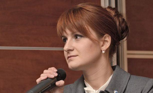 Venäläisagentiksi epäilty Maria Butina on myöntänyt syyllisyytensä.
