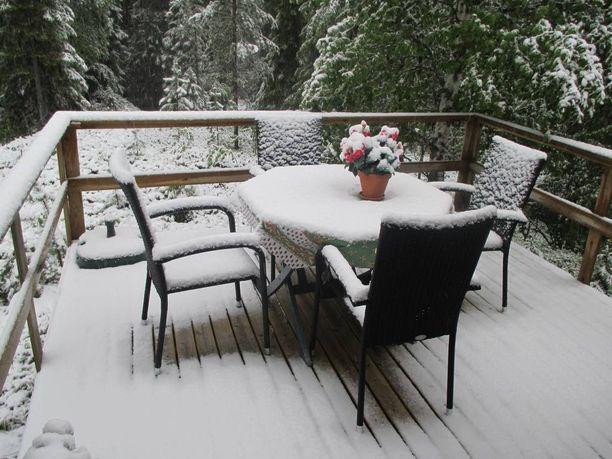 Pääsiäisenä terassikelit saattavat olla yhtä lumisia kuin kesäkuun puolivälissä pari vuotta sitten.