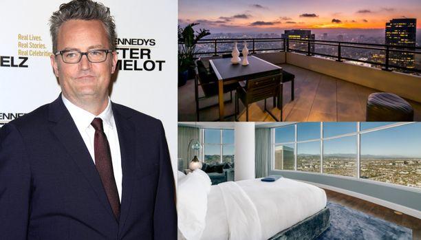 Frendit-tähti Matthew Perry kauppaa luksuskotiaan.