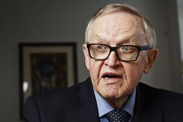 Martti Ahtisaari on vankkumaton optimisti, mikä kuuluu karjalaiseen luonteeseen.
