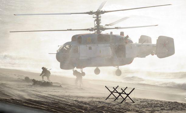 Kuva Zapad-harjoituksesta Valko-Venäjältä vuodelta 2013.