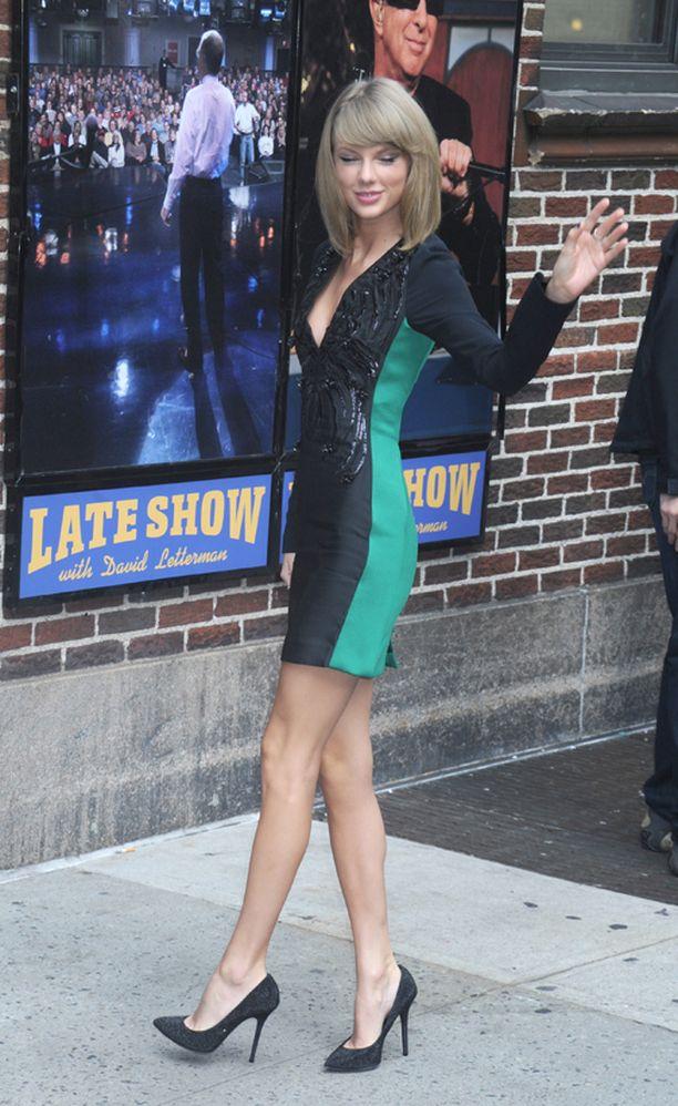 Taylor Swiftin kengät näyttävät upeilta, mutta niitä ei kannata käyttää joka päivä.