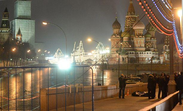 Nemtsov murhattiin aivan Kremlin kupeessa Moskovassa.