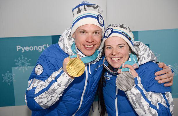 Iivo Niskanen ja Krista Pärmäkoski eivät kilpaile Vantaan Suomen cupissa.