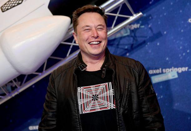 Elon Musk on maailman rikkain mies.