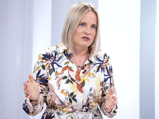 Perussuomalaisten 1. varapuheenjohtaja Riikka Purra sanoo maahanmuuton olevan olennainen teema kuntavaaleissa.