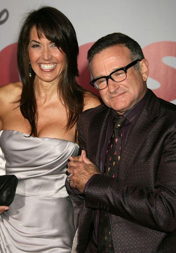 Robin Williams ja Susan Schneider menivät naimisiin 2011.