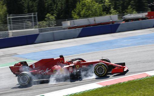 Hätävalot vilkkuvat Ferrarilla - talli teki merkittävän peliliikkeen viikonlopun F1-kisaan