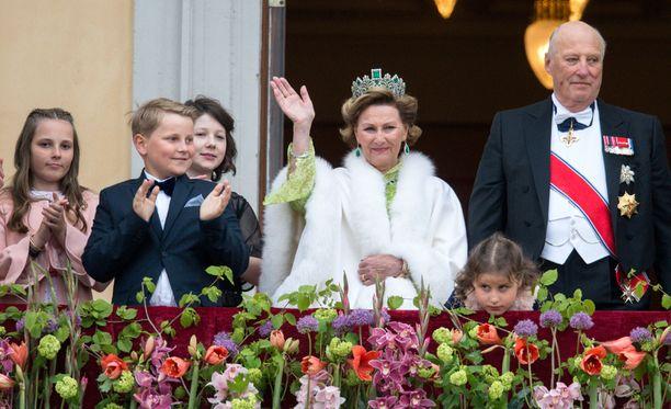 Norjassa on juhlittu kuningasparin syntymäpäiväjuhlia tällä viikolla.