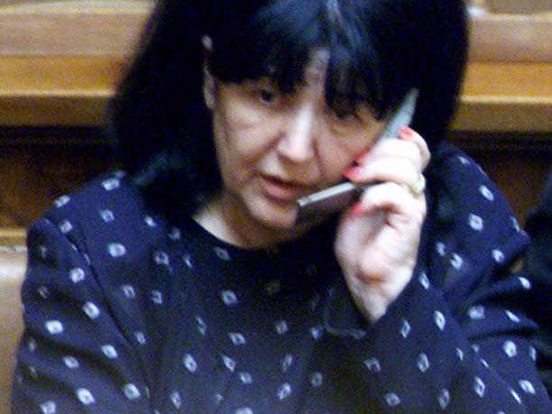 Mirjana Markovic kuoli sunnuntaina moskovalaisessa sairaalassa.