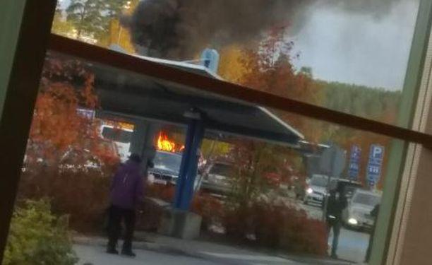 Poliisin mukaan palo ei todennäköisesti alkanut tablettitietokoneesta.
