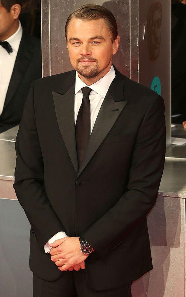 Tältä Leonardo DiCaprio näytti helmikuun puolivälissä BAFTA Awardseissa Lontoossa.