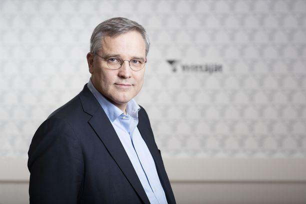 Suomen Yrittäjien toimitusjohtaja Mikael Pentikäinen.