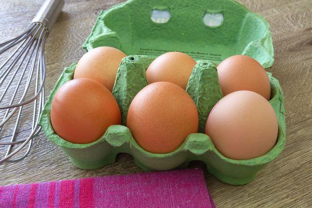 Kananmuna on hyvä proteiinin lähde. Proteiini pitää nälkää loitolla pitkään. Proteiinia saa myös muista ruuista kuin kananmunasta.