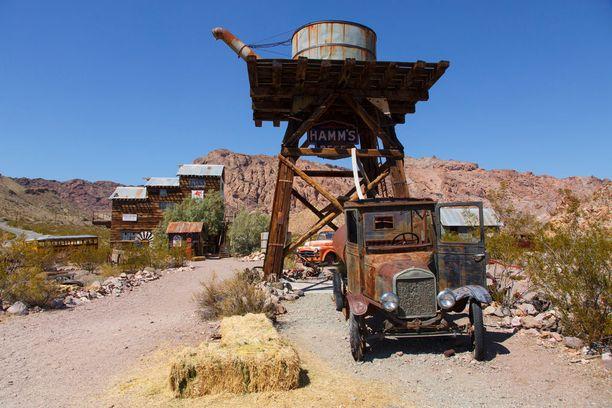 Nelsonin kaivoskaupungin rippeet ovat suosittu kuvauspaikka.