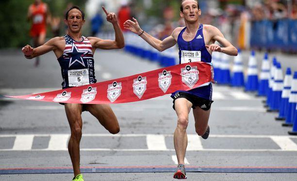Ben Payne luuli juoksevansa voittoon vaikka jarruttelemalla lopun.