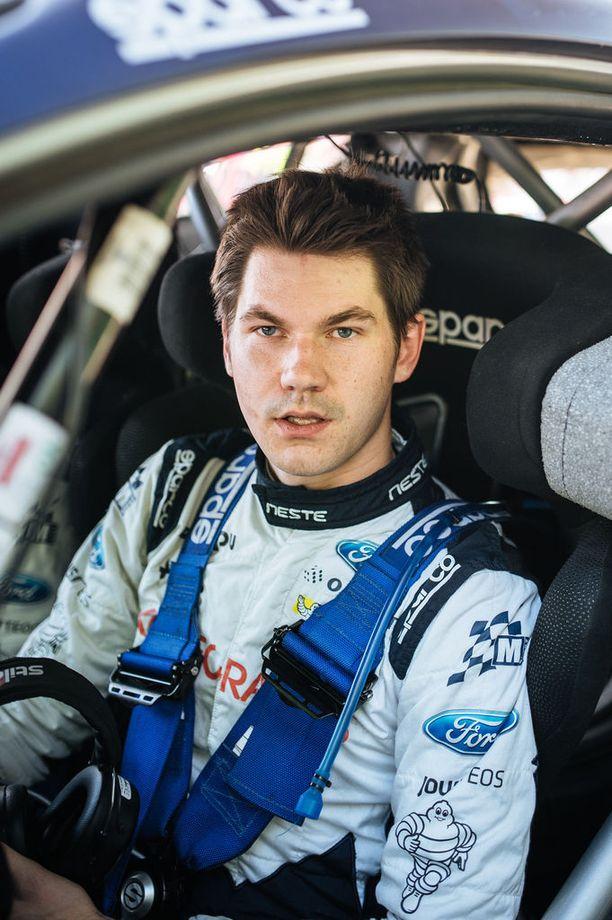 Teemu Suninen on kilpaillut 28 WRC-rallissa.
