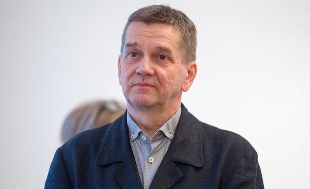 Olli Jalonen oli Finlandia-ehdokkaana tänä vuonna jo viidettä kertaa.