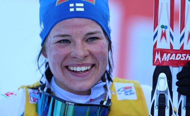Krista Pärmäkoski eteni jatkoon Otepään sprintissä.