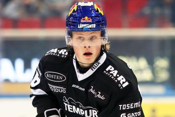 Juuso Pärssinen keräsi HIFK:ta vastaan kaksi syöttöpistettä.