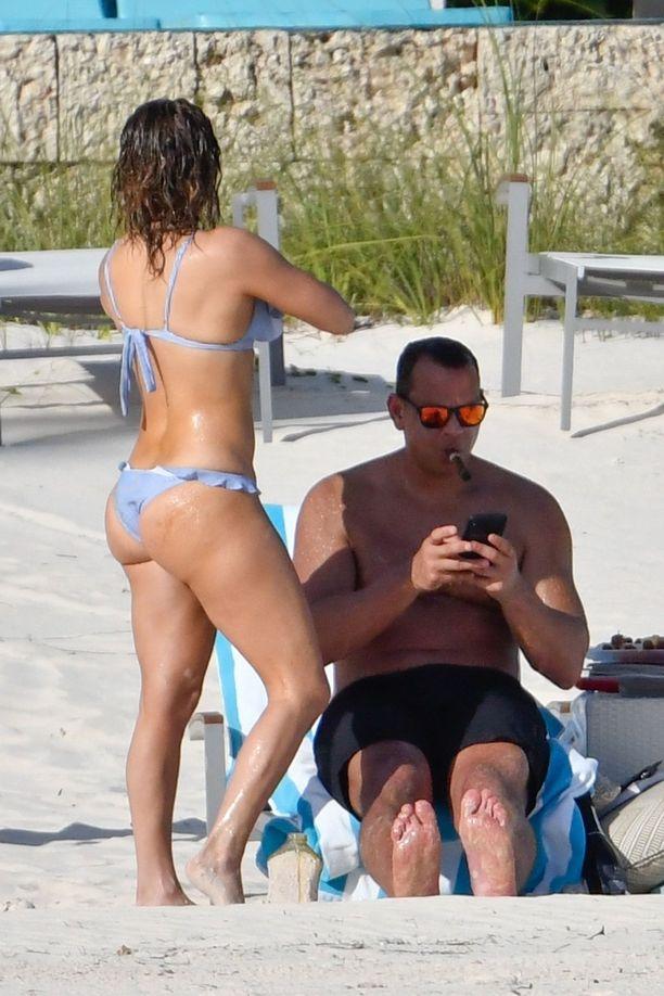 Jennifer Lopezin kroppa on upeassa kunnossa.