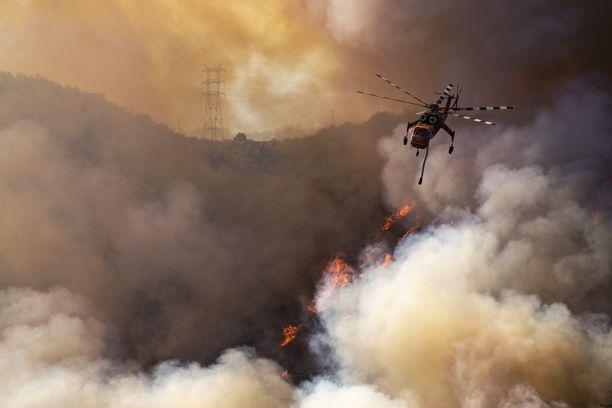 Kaliforniassa on riehunut voimakkaita maastopaloja, joiden seurauksena tuhansia on evakuoitu. Maastopalot ovat vuosittainen ilmiö, mutta ilmastonmuutos voimistaa sään ääri-ilmiöitä ja ruokkii siten maastopaloja.