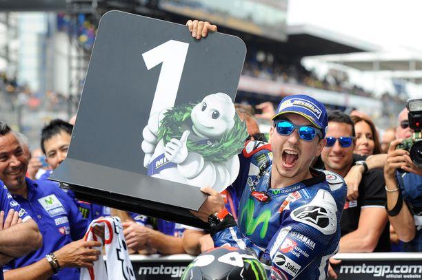 Jorge Lorenzo on yksi MotoGP:n historian suurimmista nimistä.