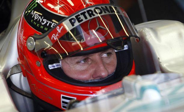Michael Schumacher sai pienemmän numeron. Miksi?