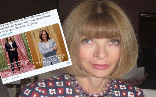 Nyt puhuu Voguen päätoimittaja: Puolustaa Kamala Harrisin kuvaa