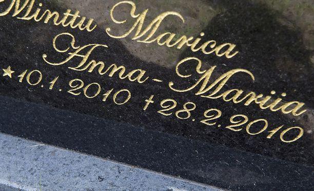 Minttu Marica Anna-Mariia syntyi 10.1.2010 ja eli vain seitsemän viikkoa.