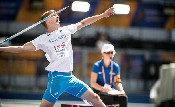 Oliver Helander käyttäytyi oudosti Berliinin EM-kisoissa.