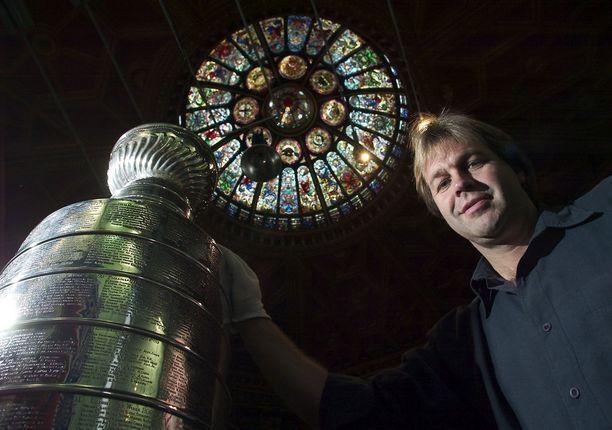 Philip Pritchard vartioi Stanley Cupia.